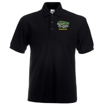 Stolly Operator Embroidered Polo Shirt